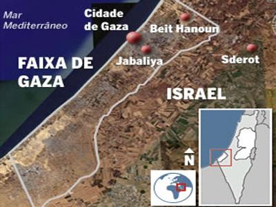 Faixa de Gaza imagens