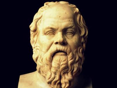 Sócrates escultura