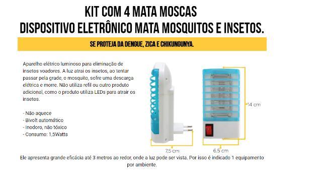 Super Mata Mosquito Como Funciona